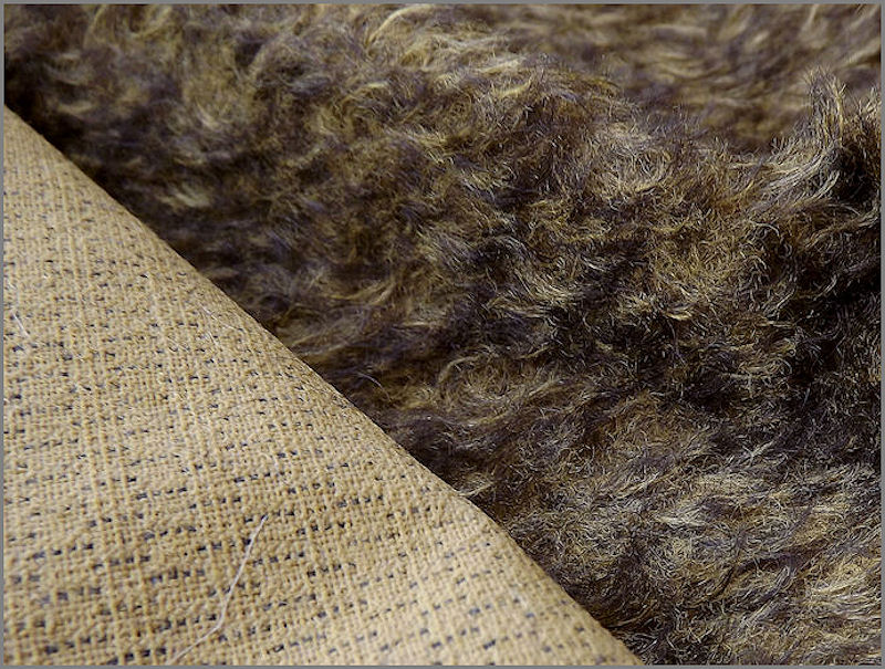 Mohair Bear Making Supplies Limited Ellie Golden Brown