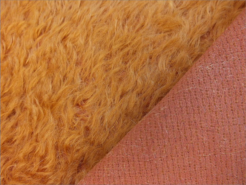 Mohair Bear Making Supplies Limited Juno Golden Russet