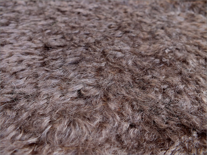 Mohair Bear Making Supplies Limited Juno 28 Earth Brown