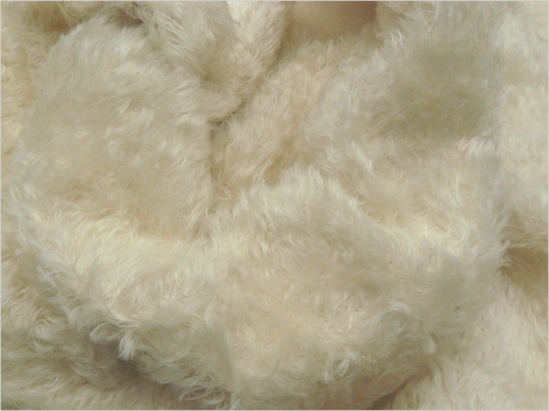 Mohair Bear Making Supplies Limited Juno Ivory 18mm Mohair