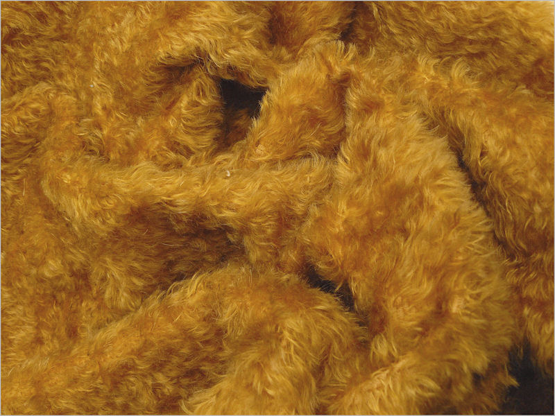 Mohair Bear Making Supplies Limited Juno Yellow Gold
