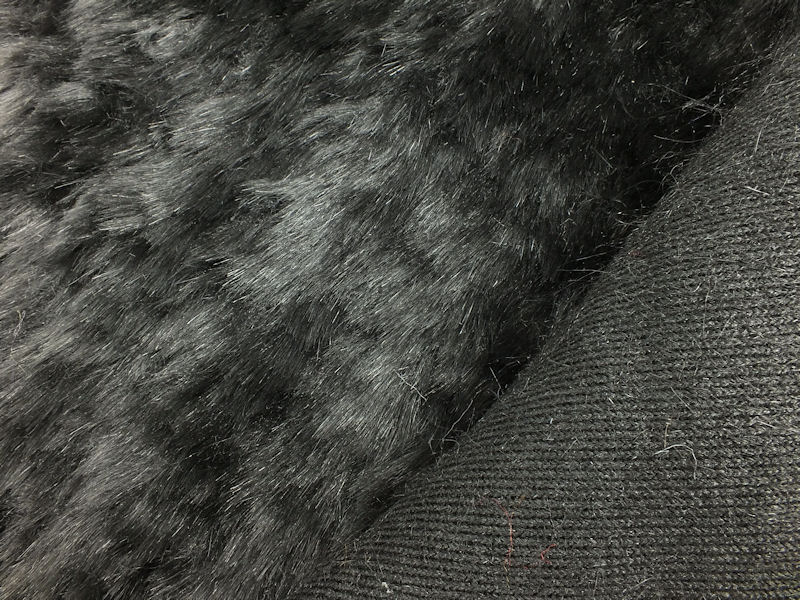 Black Faux Fabric Textured Spray Paint