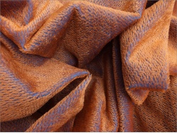 Helmbold Rust on Blue 5mm Sparse Mohair