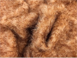 Schulte Beige & Brown dense tipped 23mm Mohair - 95