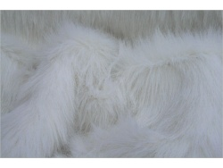 Ice White 60mm pile with guard hairs