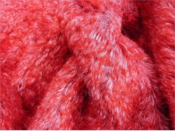 Barry Strawberry Red Fleck 15mm Mohair