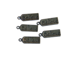 Believe Tags (bronze colour) TB110