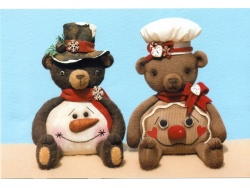 Belly Bears and Shelf Sitters for Winter