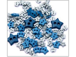 Star shaped mini craft buttons
