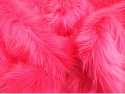 Cerise Pink Luxury 60mm Shag Pile