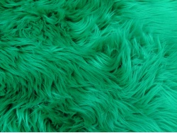 Emerald Green Luxury 60mm Shag Pile