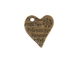 Forever Friends Hearts (bronze colour) TB178