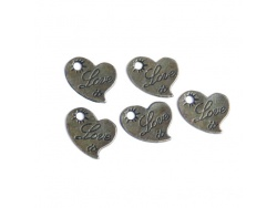 Love Hearts (bronze colour) TB111