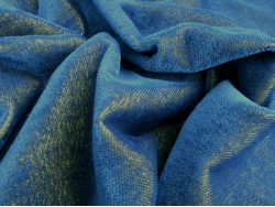 Helmbold Blue on Gold 5mm Sparse Mohair