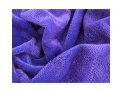 Helmbold Purple on Blue 5mm Sparse Mohair