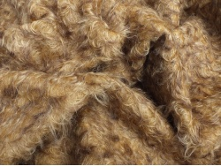 Helmbold 60/55 Gold Brown Tipped 25mm Mohair