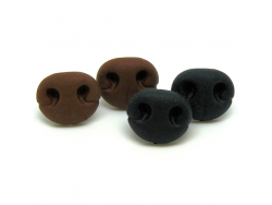 Soft Feel Rubber Teddy Bear Noses