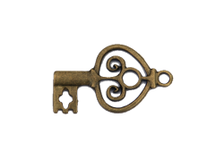 Antique Keys (bronze colour) TB184