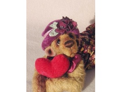 Love Sick 27cm Teddy Bear Pattern