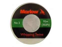Marlow Waxed Whipping Twine White