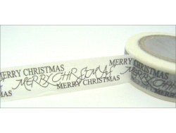 Washi Tape Merry Christmas 10mm