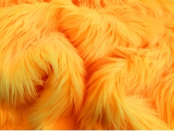 Yellow Luxury 60mm Shag Pile