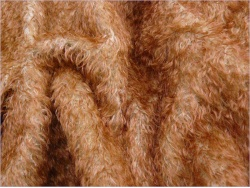 Nora 14 Beige with Rust Brown Tips 15mm Mohair