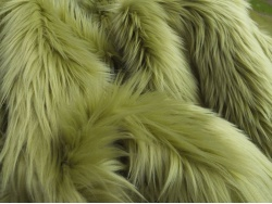 Golden Olive Luxury 60mm Shag Pile