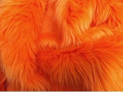 Orange Luxury 60mm Shag Pile
