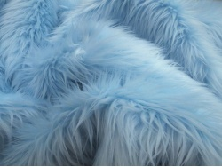 Pale Blue Luxury 60mm Shag Pile
