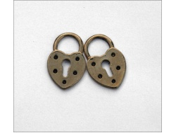 Decorative Locks (antique gold colour) TB124
