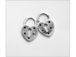 Decorative Locks (antique silver colour) TB127