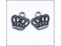 Decorative Crowns (antique silver colour) TB130
