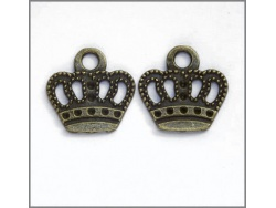 Decorative Crowns (antique brass colour) TB131