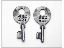 Decorative Keys (silver colour) TB164