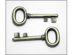 Decorative Keys (antique brass colour) TB153