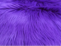 Purple Ape 50mm Shag Pile