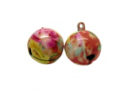 Hand Painted Pastels Jingle Bells
