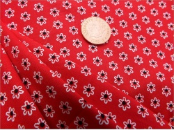 Cotton Red Daisy