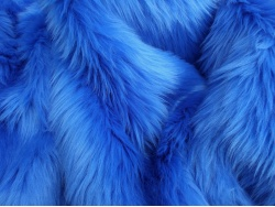 Royal Blue Luxury 60mm Shag Pile