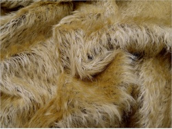 Schulte Silke Gold on Brown 21mm  Mohair - 23
