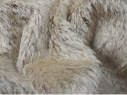 Schulte Silke Beige on Brown 21mm Mohair - 25