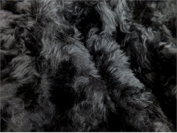 Schulte 24mm Black Wavy 51 Mohair