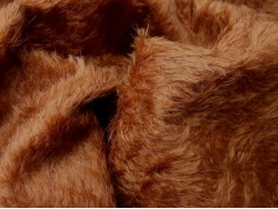 Schulte Red Squirrel Sparce Wavy 15mm Mohair