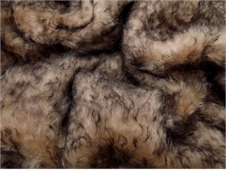 Schulte Sable Brown Tip 40mm Mohair - 73