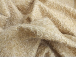 Schulte Light Gold Vintage Felted 11mm Mohair -27