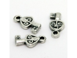 Miniature Decorative Keys (silver colour) TB192