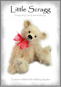"Little Scragg - Mohair Teddy Bear Kit 9"" / 23cm"