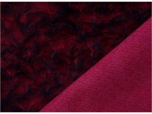 Schulte Ratinee Red Tipped 23mm Mohair - 93