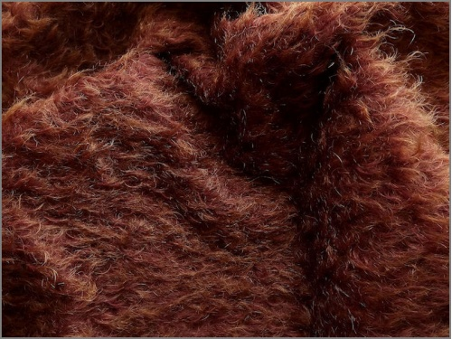 Mohair Bear Making Supplies Limited Ellie Russet Gold